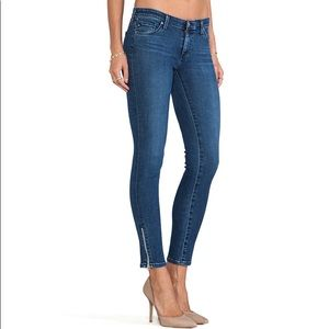 AG Adriano Goldschmied 'Zip-up Legging' Jean